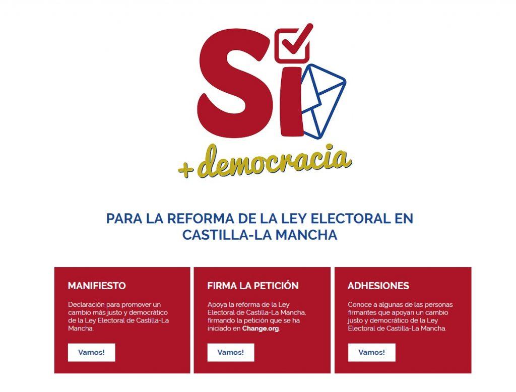 reforma ley electoral castilla la mancha