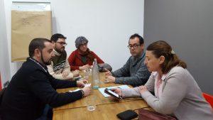 Reunión EQUO Partido Castellano