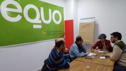 Reunión equo - partido castellano